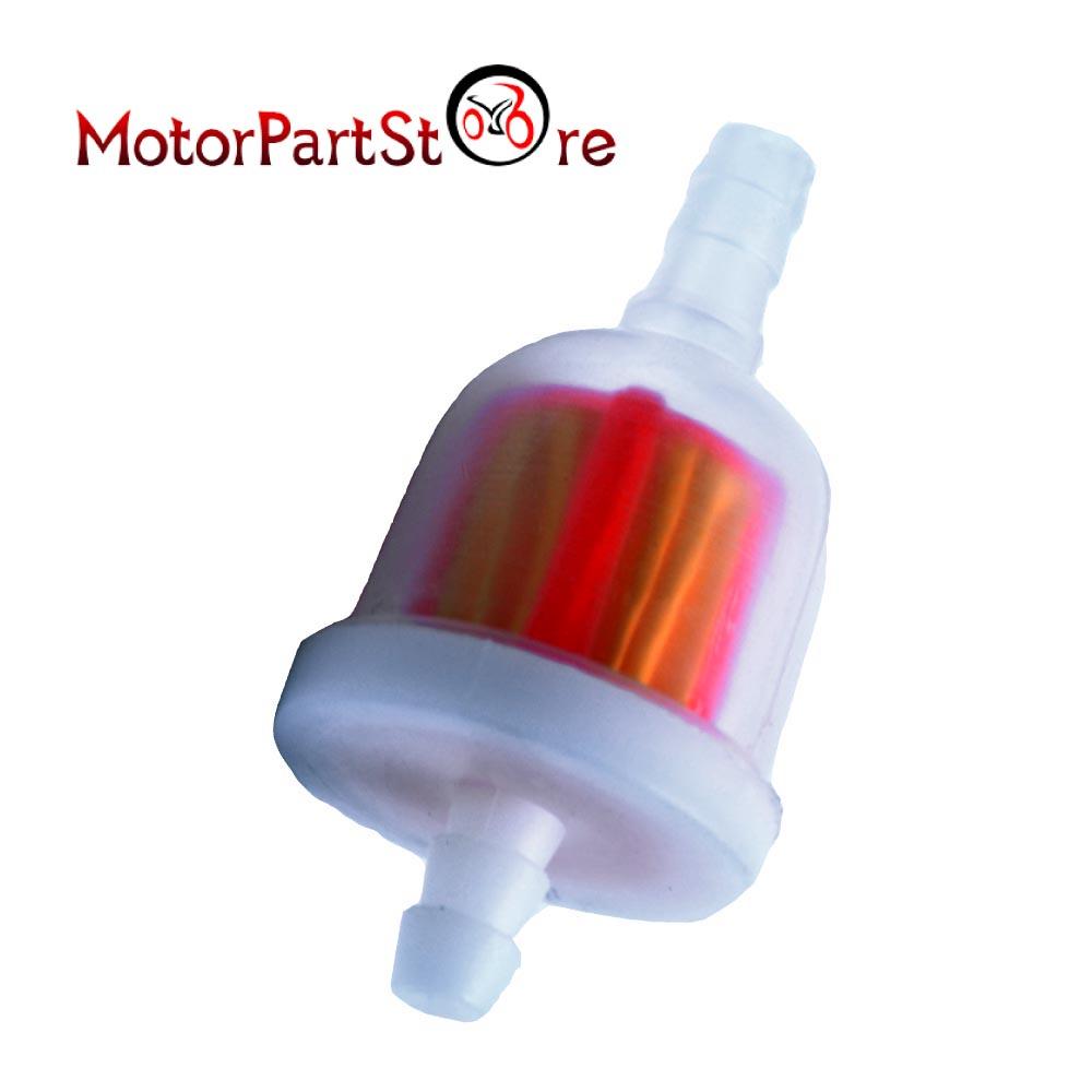 3pcs/lot gas fuel filter for go kart moped scooter dirt bike atv taotao sunl  chinese d20
