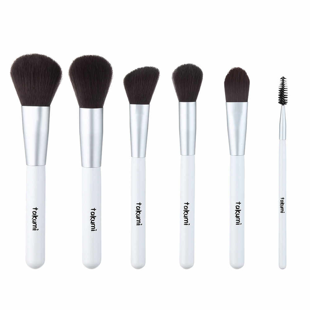 Maquillage brosses ensemble professionnel 12 pièces En Bois Fondation Pinceaux Correcteurs Sourcils Fard À Paupières Brosse Pinceau De Maquillage Outils Y527