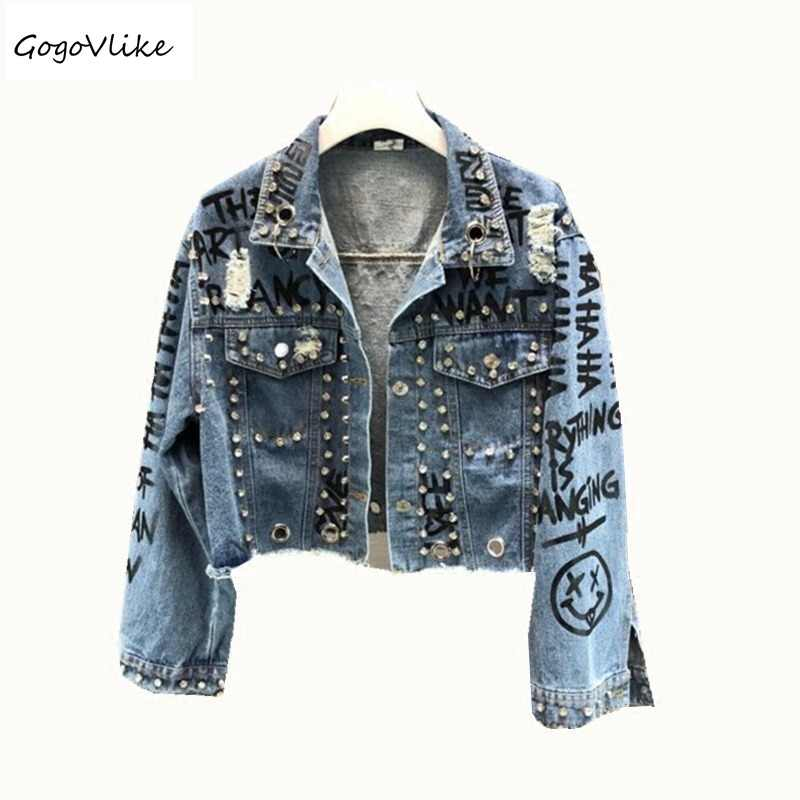 3bf6a615ffaf Harajuku стиль выдалбливают джинсы с потертостями и дырками хлопок ...
