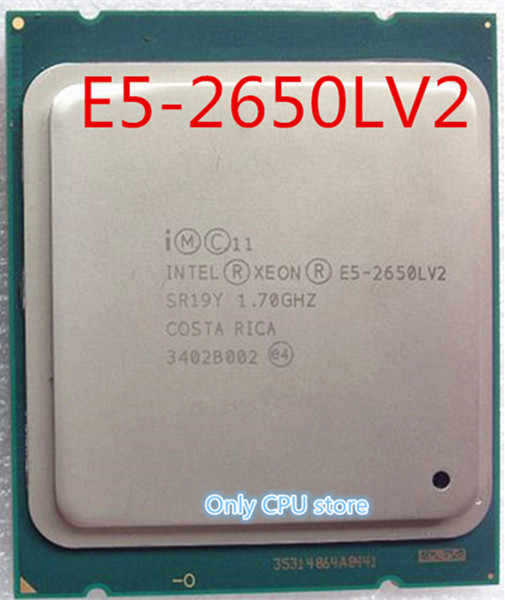 Free shipping Intel E5-2650L V2 10-Core 1.7GHz LGA2011 CPU Processor E5 2650L V2