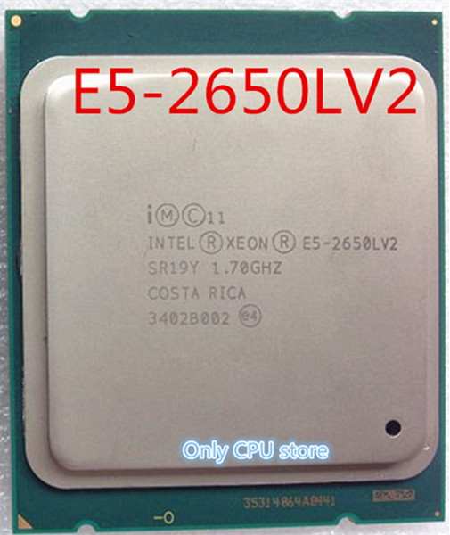 Free shipping Intel E5-2650L V2 10-Core 1.7GHz LGA2011 CPU Processor E5 2650L V2