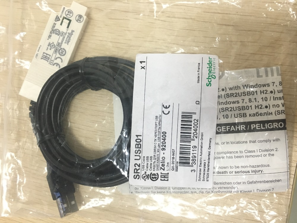 SR2USB01 Schneider PC Programming Cable With USB Port. Brand New Imported