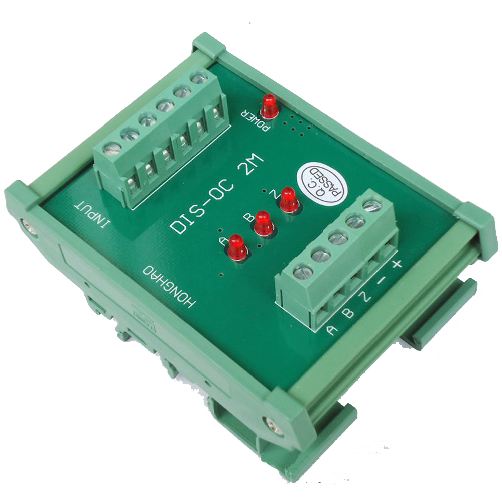 3 Channels Converter Differential TTL into Collector HTL Signals Teminal Blocks Plate3 Channels Converter Differential TTL into Collector HTL Signals Teminal Blocks Plate