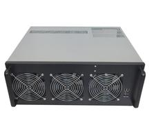 crypto mining gpu and19 inch rack Sever Rig Frame usb miner Case For ATX Graphic Card Ethereum ETC ZEC XMR RX470 R9 380 8 gpu mining rig stackable case 5 fans open air frame eth zec bitcoin new