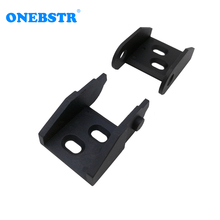 JFLO One Pair of 10x20 Drag Chain Joints Semi closed non opening Connectors Plastic towline Cable Wire Carrier tanks chain