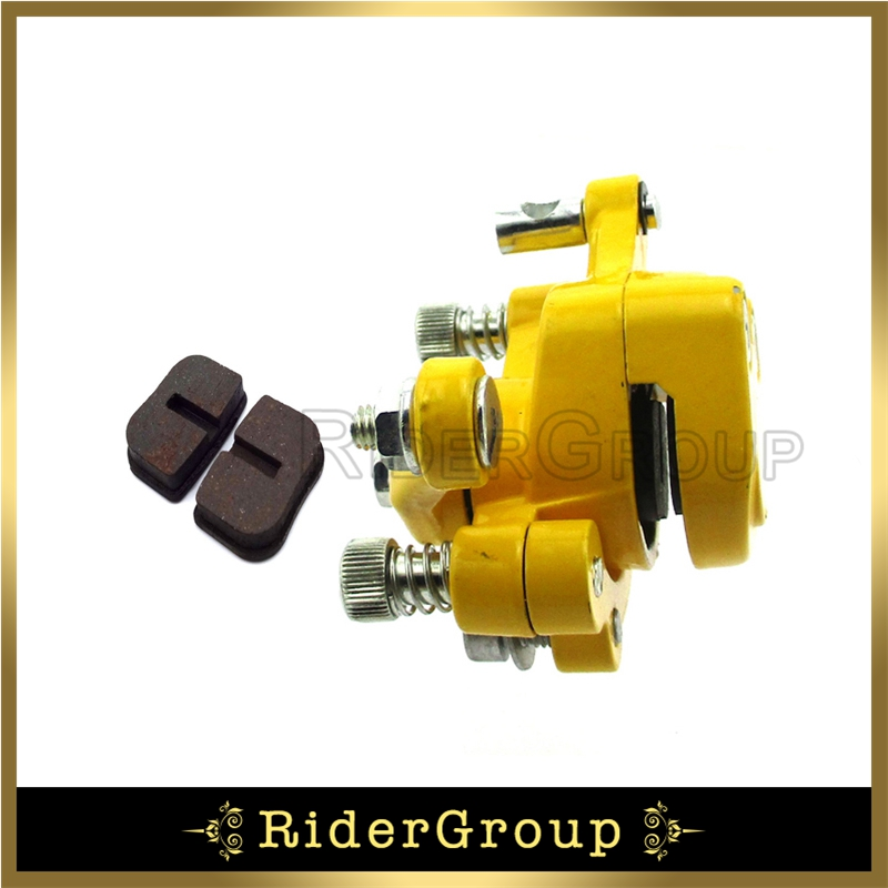 US $10 2 18% OFF|Yellow Rear Disc Brake Caliper For 97cc Mini Bike BAJA  DoodleBug DB30 DB30S DB30R-in Brake Disks from Automobiles & Motorcycles on