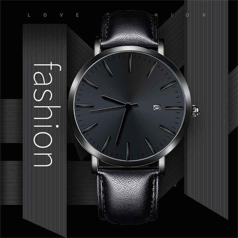 Business Casual Design Watch Stainless Steel Couple Quartz Analog Wrist Watch