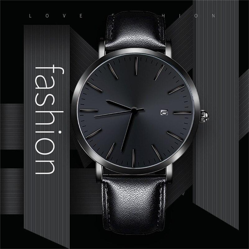 Business Casual Design Watch Stainless Steel Couple Quartz Analog Wrist Watch