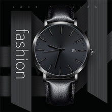 Business Casual Design Watch Stainless Steel Couple Quartz Analog