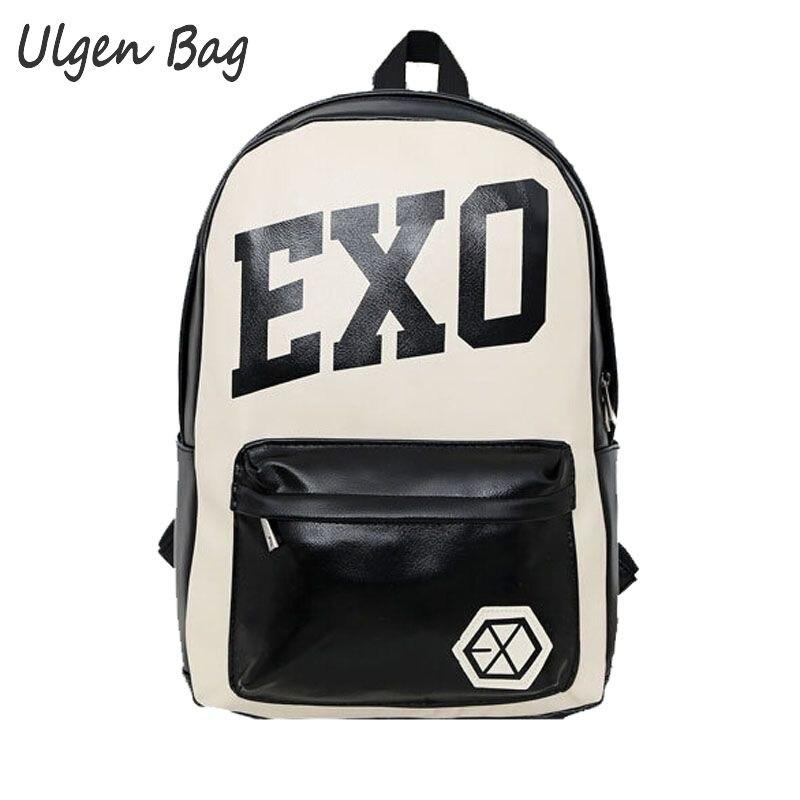 nova bolsa escola kpop exo Handle/strap Tipo : Soft Handle