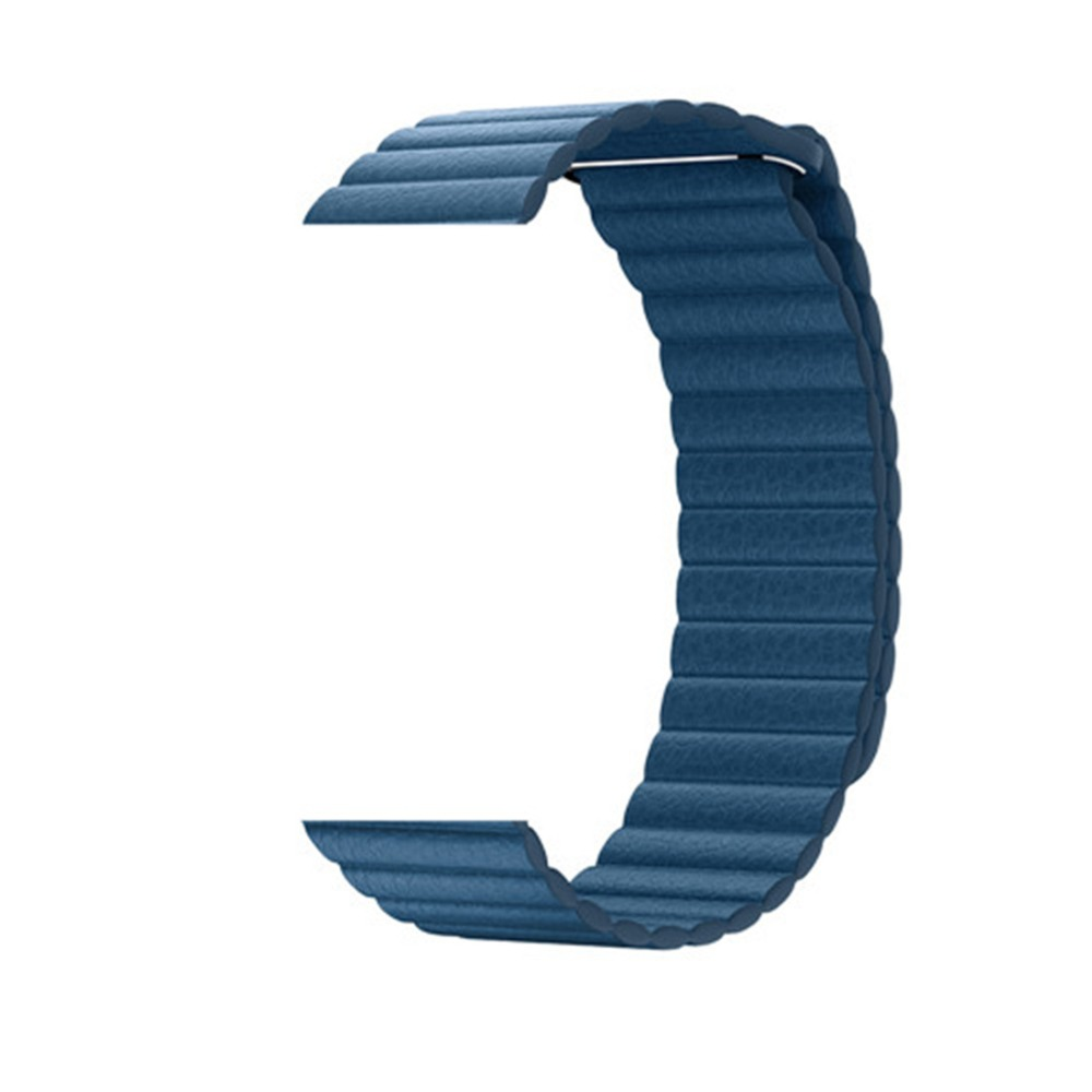 Lazo de cuero correa para Apple Watch banda 42mm/38mm iWatch serie 4/3/2/ 1 44mm/40mm Cierre magnético pulsera correa de reloj