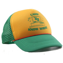 Men Women Stranger Baseball Cap Dustin Things 3 Cosplay Hat Mesh Trucker Cap Adult Camp Know Where Green Yellow Cap Halloween цена
