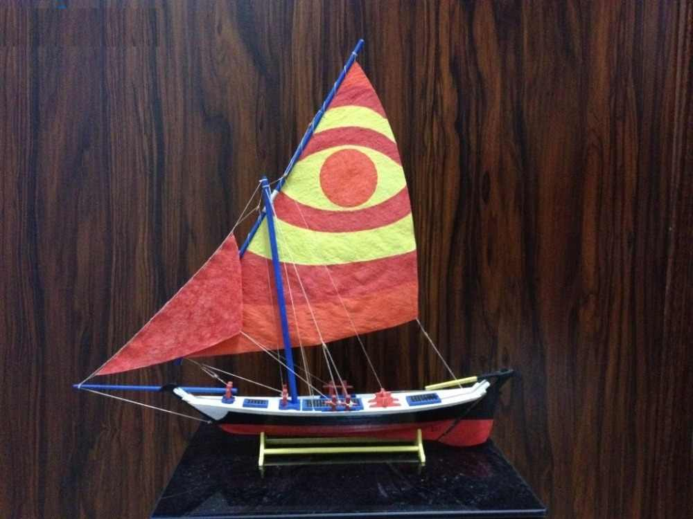 Sacle 1/50 Classic Egyptian Dhow Felucca 1887 sailboat wooden model kits