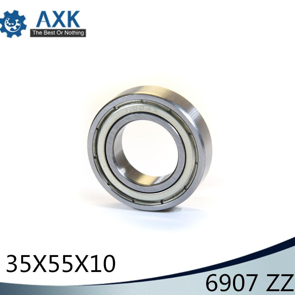 6907ZZ roulement ABEC-1 (10 pièces) 35x55x10mm Section mince 6907 ZZ roulements à billes 6907Z 61907 Z