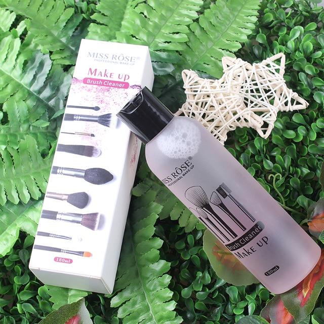 Cepillo de maquillaje profesional limpiador líquido limpieza rápida rubor, limpiador de Puff herramienta 180 ml Dropshipping