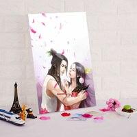 Pintura by numbers diy pintura a óleo digital de sete irmãos cabaça china estilo dos desenhos animados imagem pintura modular