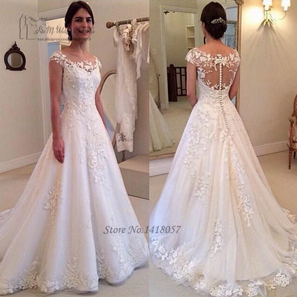 Elegant Bridal Dress Made In China Online Shop Wedding Dresses 2017 Vestido De Noiva Renda African Gowns Lace From