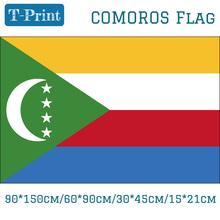 The Federal And Islamic Republic Of Comoros Flag 60*90cm 90*150cm 15*21cm For Event Office Home decoration 30*45cm Car