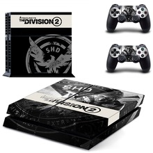 Tom Clancy's The Division 2 PS4 Skin Sticker Decal For Sony PlayStation 4 Console and 2 Controllers PS4 Skins Sticker Vinyl