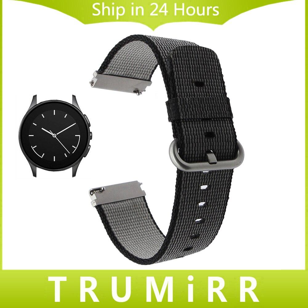 22mm Quick Release Nylon Watchband for Vector Luna Meridian Huawei Watch 2 Classic Cookoo Smart Watch