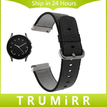 22mm de Liberación Rápida Correa de Nylon para el Vector Luna/Meridian huawei watch 2 classic cookoo smart watch banda de muñeca de tela correa