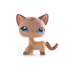 Lps old collection cat Pet Shop free shipping Toys Short Hair Cat Action Standing Figure Cosplay Children Best Gift