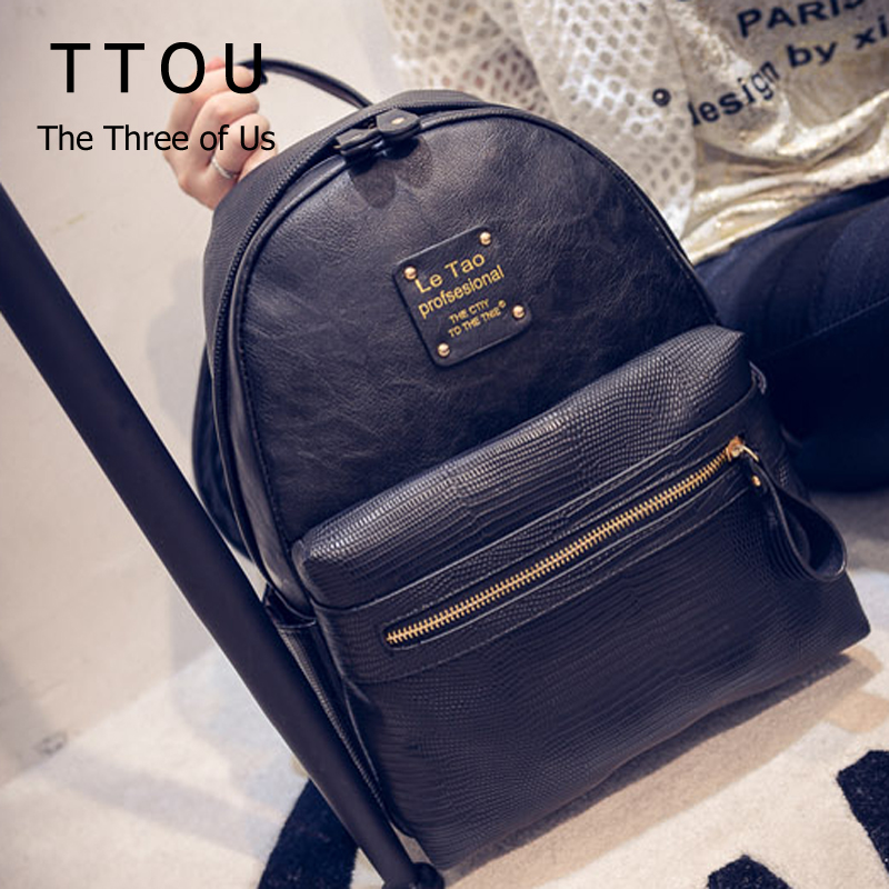 New Fashion Women Backpacks Women's PU Leather Backpacks Girl School Bag High Quality Ladies Bags Designer Women Backpack Bolsas