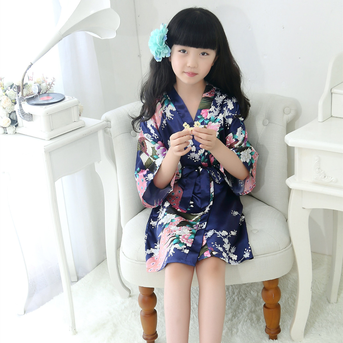 Japanese Dressing Gown: Aliexpress.com : Buy Children New Vintage Japanese Girls
