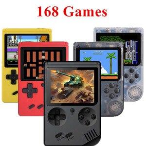Image 1 - Coolbaby rétro Portable Mini Console de jeu de poche 8 Bit 3 pouces couleur LCD enfants couleur lecteur de jeu intégré 168 jeux vidéo