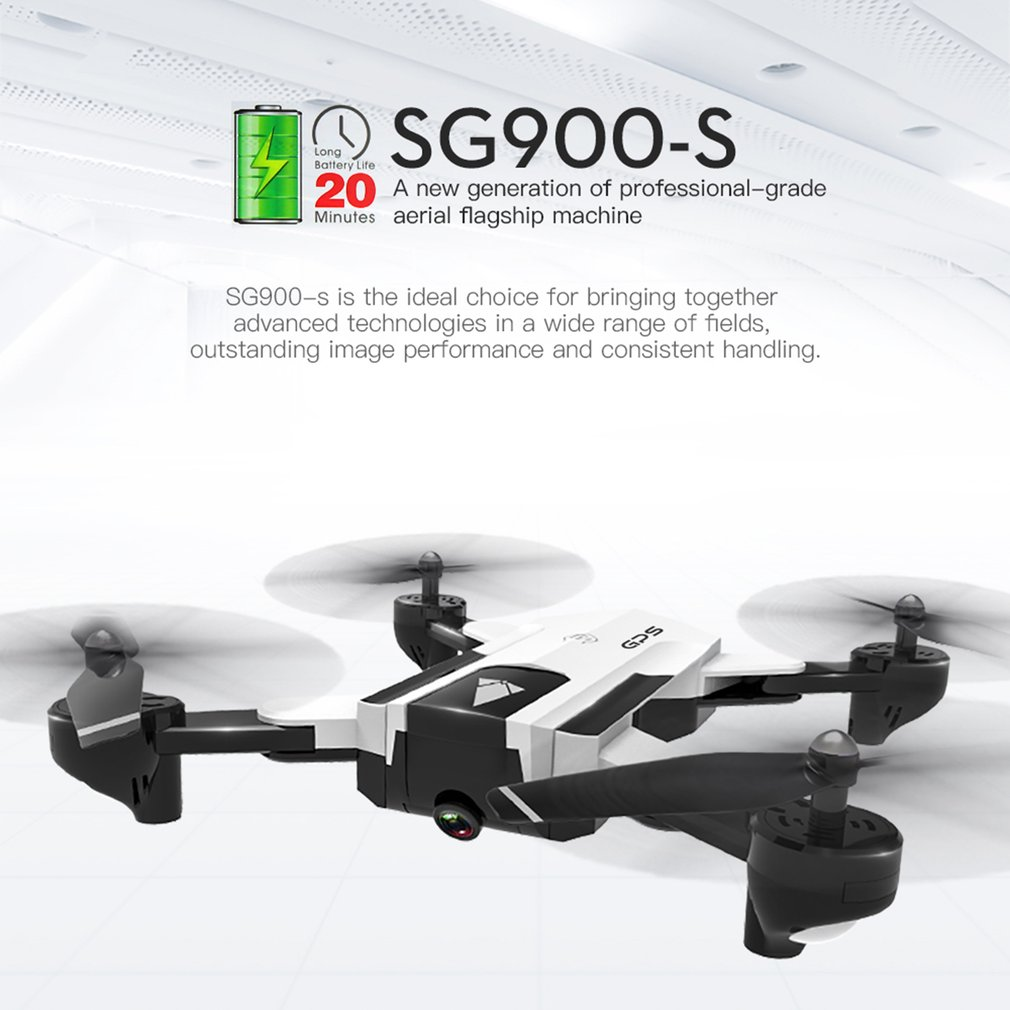 SG900-S RC Drone 2.4G Foldable Selfie Smart GPS FPV Quadcopter with 720P/1080P HD Camera Altitude One Key Return Hold Follow MeSG900-S RC Drone 2.4G Foldable Selfie Smart GPS FPV Quadcopter with 720P/1080P HD Camera Altitude One Key Return Hold Follow Me