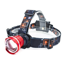 PANYUE Portable Super Bright Mini 3 Mode LED Headlamp Zoomable Lamp Outdoor Led Head light Sports Camping Fishing Headlight