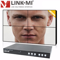 Video Wall Controller HDMI DP Mobile Phone Signal Processor 2x2 Four Images Stitching Image Processor 4