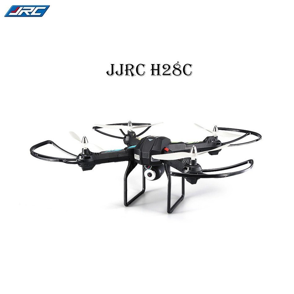 JJRC H28C HD 2MP CAM 2.4G 4CH 6 Axis Gyro Quadcopter CF Mode with Light Ready-to-fly Christmas Birthday Gift original jjrc h28 4ch 6 axis gyro removable arms rtf rc quadcopter with one key return headless mode drone