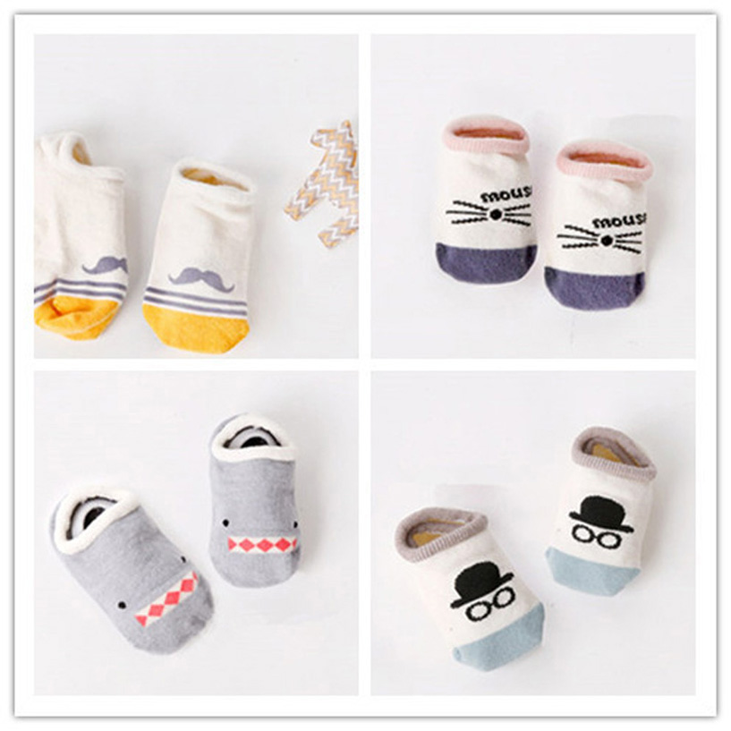 Newborn Baby Socks Meias Infantil Baby Boy Socks Antislip Skarpetki Dla Dzieci Cute Infant Socks Summer Baby Sock