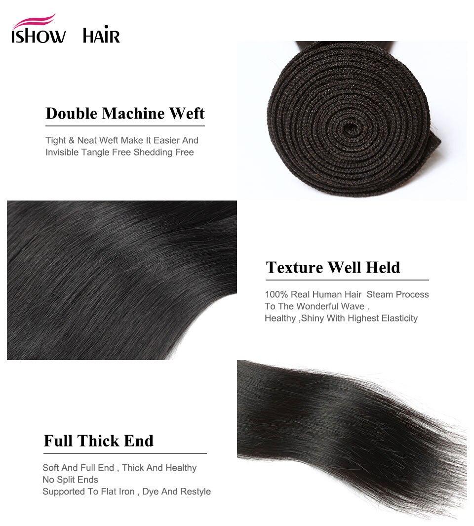 Straight Hair Weave 18
