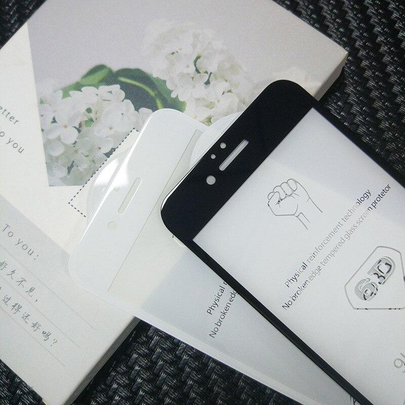 600 pièces DHL Pour iPhone 8 6D Protecteur D'écran En Verre Trempé Pleine Couverture De Protection pour l'iphone XS Max 6 6s 7 8 Plus-in Protections d'écran de téléphone from Téléphones portables et télécommunications on AliExpress - 11.11_Double 11_Singles' Day 1