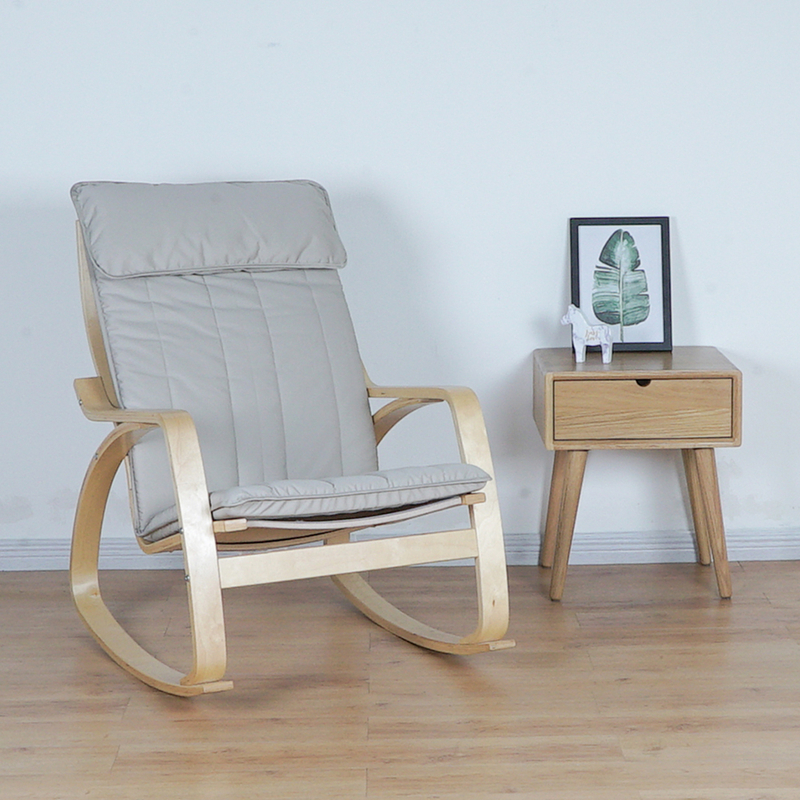 Rocking chair lazy couch balcony lounge chair pregnant