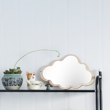 INS Nordic Style Butterfly Batman Cloud Shatterproof Acrylic Bathroom Decoration Mirror Kid Room Wall Baby Decor