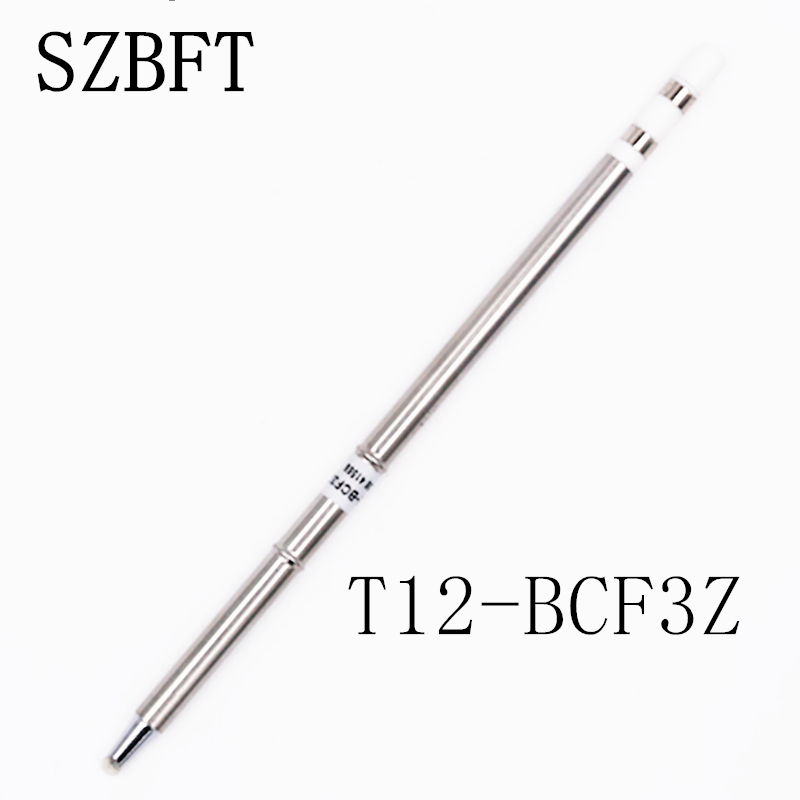 SZBFT T12-BCF3Z B2 BC1 BC2  BC3 BL BCF1 Ect Soldering Iron Tips Sting  Series For Hakko Soldering Rework Station FX-951 FX-952