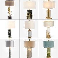 Настольная лампа светодиодный прикроватный светильник спальня комната настольная лампа прикроватная абажур настольная ночник для чтения