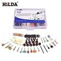 "HILDA 92Pcs Wood Metal Engraving Electric Rotary Tool Accessory for  Dremel Bit Set Grinding Polish Cutting Cut 1/8"" for Dremel"