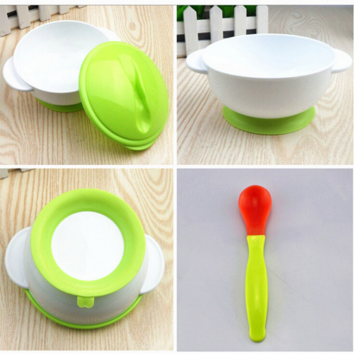 Baby Bowl For Kids Training Tableware Baby Food Container Dinnerware Eating  Set Safe BPA Free Baby