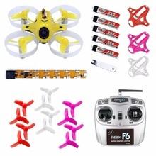 JMT Tiny7 / Tiny6 RTF Combo Mini Racing Drone Quadcopter with 800TVL Camera Feiyusky F6 Transmitter Receiver F20023/F20024