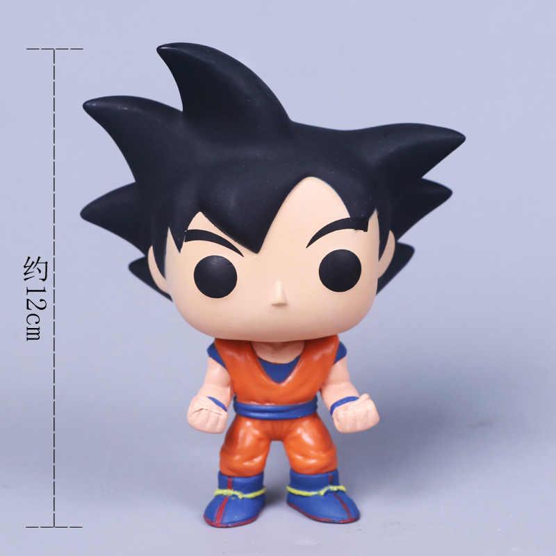 2018 dragon ball brinquedo son goku figura de ação anime super vegeta modelo boneca pvc coleção brinquedos para crianças presentes natal