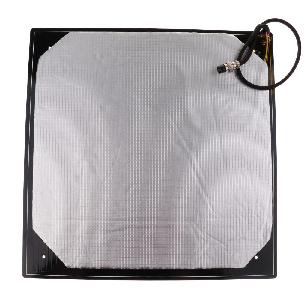 12V 410*410*3MM MK3 Heated Bed 400*400 Aluminium PCB Heatbed Heat bed for Creality CR-10 S4 3D printer parts