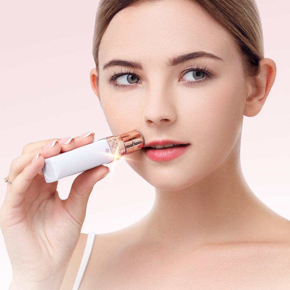 Minimize facial hair 11
