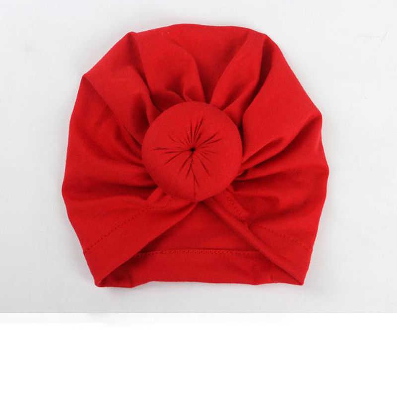1 piezas lindo bebé niña sombrero Color caramelo turbante sombrero Bunny oído chicas sombreros suave de algodón recién nacido de princesa bebé beanie Cap diadema