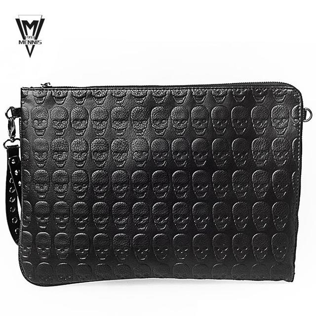 2017 New Famous Brand Designer Handbags High Quality Men Leather Day Clutch Bag S Business
