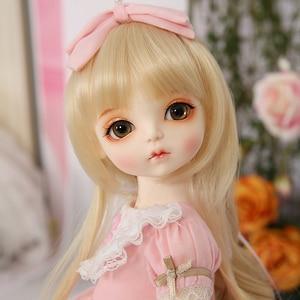 Image 4 - ROSENBJD Doll RL Holiday Cute doll Joint baby bjd sd dolls 1/4 body model girls High Quality resin  girl birthday present