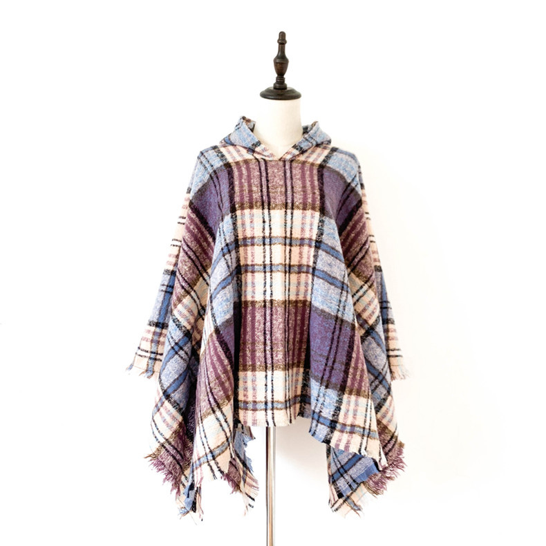 discount Fashion Poncho Blanket 6